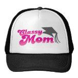 Classy Mom with graduation hat