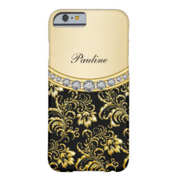Classy Monogram Style Barely There iPhone 6 Case