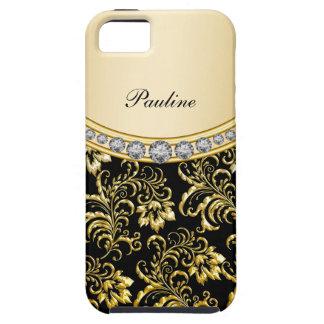 Classy Monogram Style iPhone SE/5/5s Case