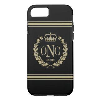 Classy Monogrammed Logo Tough iPhone 7 Case