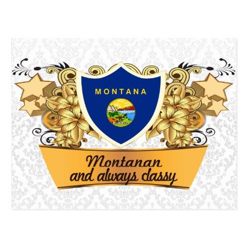 Classy Montanan Postcard