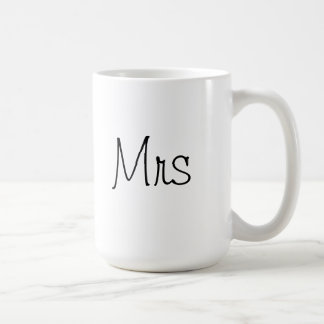 Classy Mrs Coffee Cup for Wife or Bride to Be