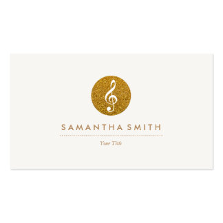 Classy Music Business Card