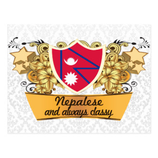 Classy Nepalese Post Card