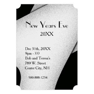 Classy New Years Eve Invitation Card