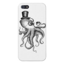 Classy Octopus Case For iPhone SE/5/5s
