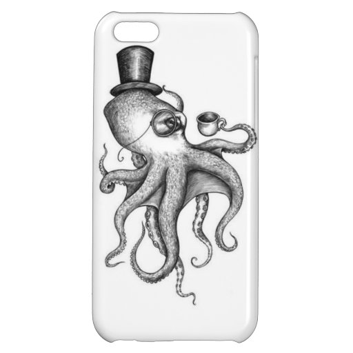 Classy Octopus iPhone 5C Cover