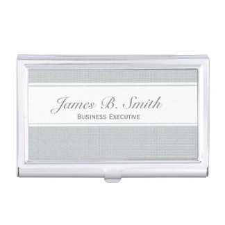 Classy Office Business Administrative Corporate Business Card Case