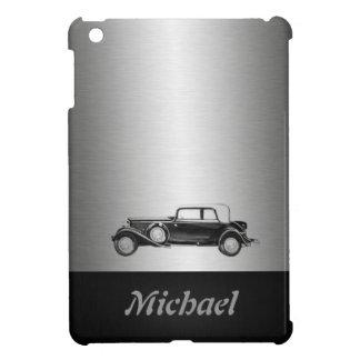 Classy old car silvery iPad mini covers