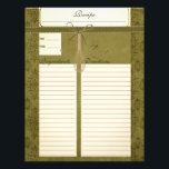"Classy Olive Green Recipe Inserts Letterhead<br><div class=""desc"">The perfect way to preserve your family recipes. These recipe inserts are the perfect match to our &quot;Classy Olive Green Recipe Binder&quot;,  or for any recipe binder.</div>"