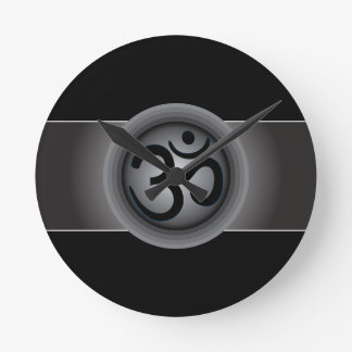 Classy Om Symbol Wall Clock