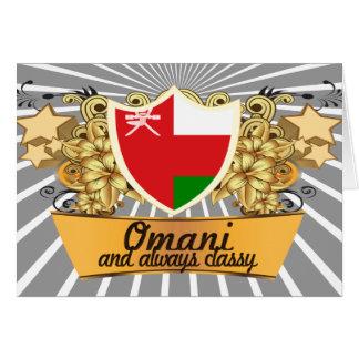 Classy Omani Card
