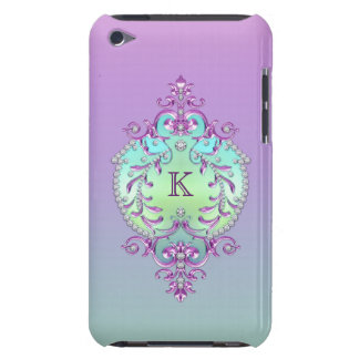 Classy, Ornate Diamonds Monogram Case-Mate iPod Touch Case