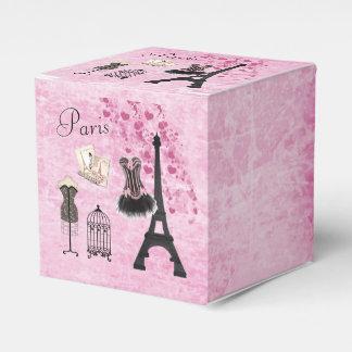 Classy Paris Fashion Eiffel Tower Favor Box