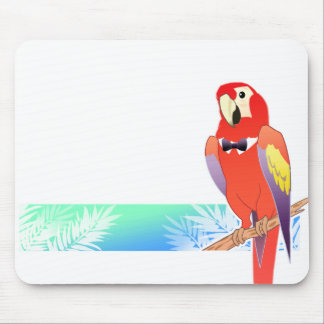 Classy Parrot Mouse Pad