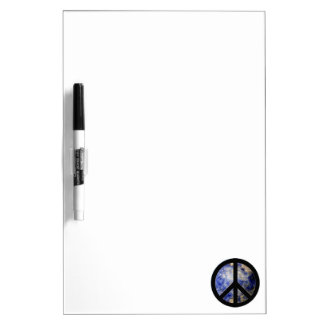 Classy Peace Sign Dry Erase Board