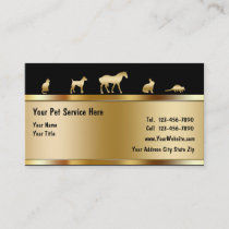 Classy Pet Business Cards