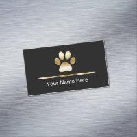 Classy business cards templates zazzle large business cards classy pet service colourmoves