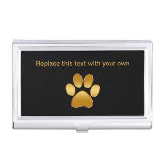 Classy Pet Theme Business Card Case