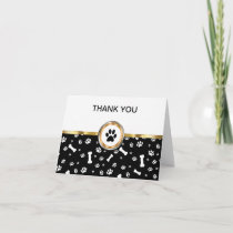 Classy Pet Theme Business Thank You Cards