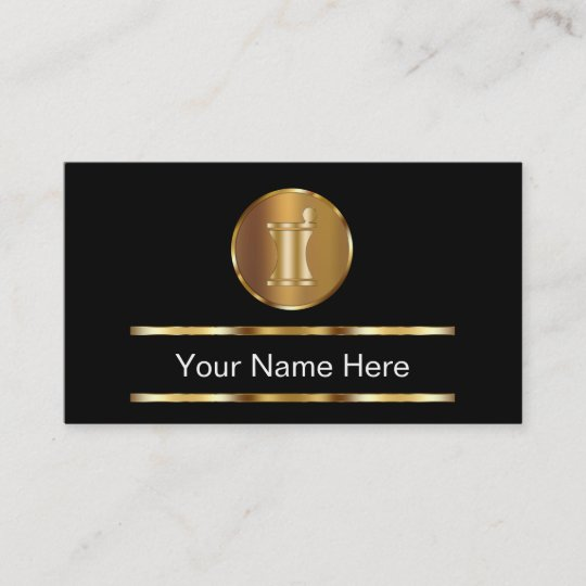 classy pharmacy business cards - Pharmacy Business Cards