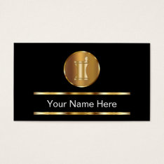 Classy Pharmacy Business Cards at Zazzle