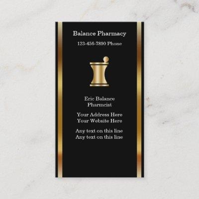 Pharmacy Pharmacist Business Drug Store Business Card Zazzle