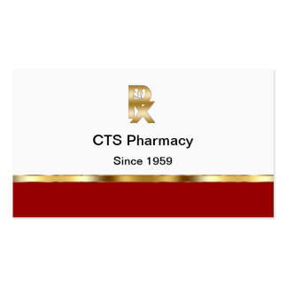 Classy Pharmacy Business Cards