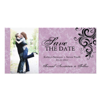 Classy Photo Save The Date Invitation