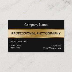 Commercial photographer business cards zazzle classy photographer business cards reheart Gallery