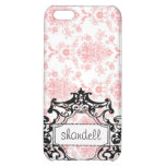 Classy pink name case iPhone 5C case