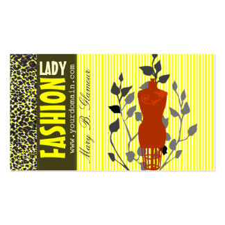 Classy Popular Nature Beauty Fashion Double-Sided Standard Business Cards (Pack Of 100)