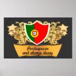 Classy Portuguese Poster
