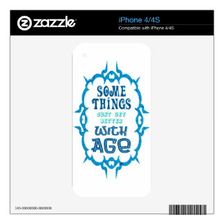 Classy Quote Decals For The iPhone 4S