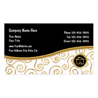 Best real estate business cards upscale real estate business cards classy real estate business cards reheart Image collections