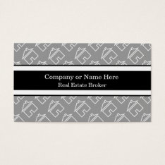 Classy Real Estate Business Cards at Zazzle