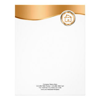 Classy Real Estate Letterhead Stationary