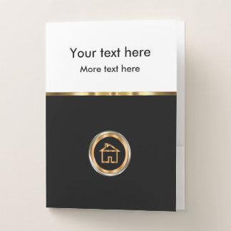 Classy Real Estate Presentation Folders