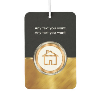 Classy Real Estate Theme Car Air Fresheners