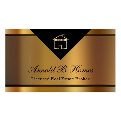 Classy Realtor Business Cards
