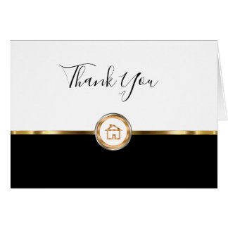 Classy Realtor Thank You Cards