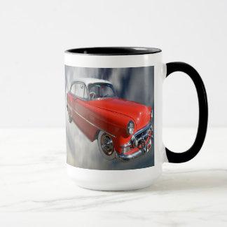 Classy Red Classic Car, Ringer Coffee Mug.. Mug