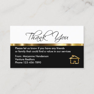 Referral Thank You Gifts On Zazzle