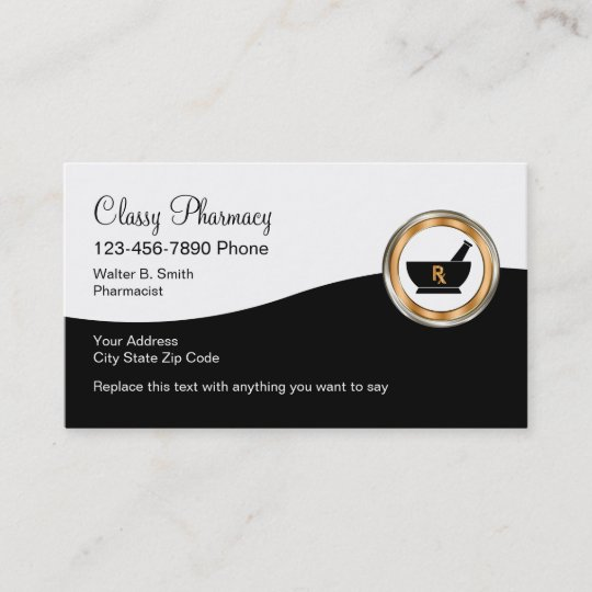 Cly Retail Pharmacy Business Card