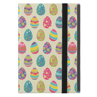 Classy Retro Easter Eggs Happy Easter Day Cover For iPad Mini