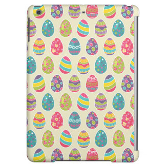 Classy Retro Easter Eggs Happy Easter Day iPad Air Cover