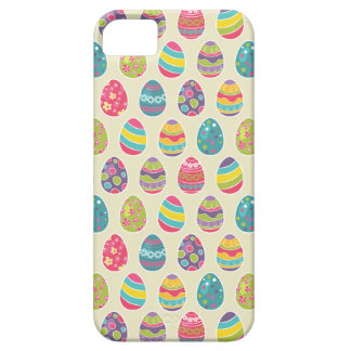 Classy Retro Easter Eggs Happy Easter Day iPhone SE/5/5s Case