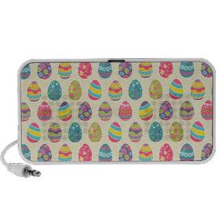 Classy Retro Easter Eggs Happy Easter Day Travel Speaker