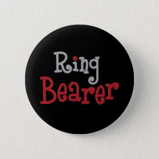 Classy Ring Bearer Pinback Button