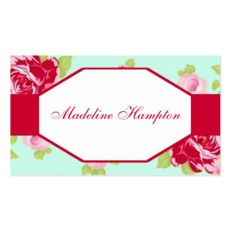 Classy Rose Business Card